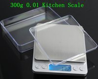 Wholesale EMS g g Digital Platform Jewelry Scale g Kitchen Weighing Balance Scales And Two Trays With Retail Box