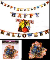Wholesale Popular and fashion Garlands Happy Holloween Decorations with