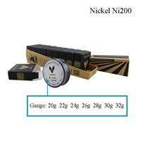 Wholesale Vapor TECH Pure Nickel Ni200 Wire heating resistance coil wick Feet Gauge tc wire