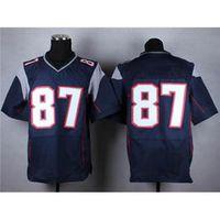 Cheap 2015 Super Bowl XLIX Jersey #87 gronkowski Navy Blue American Football Jerseys Highest Quality Uniform Mix order Free Shipping