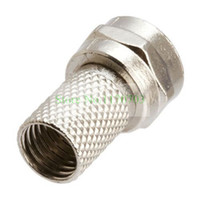Wholesale 200 UK And Normal model available Twist On Tool Less F Connector For RG Cable