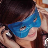 Wholesale Big discount Summer Therapeutics Soothing Beauty Eye Mask Reusable Ice Cold Gel Eye Mask Relaxes Tired Eyes Diary Cool Protective Eyes Mask