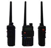 best vhf - best sale x2 Portable Radio Baofeng UV R two way radio Walkie Talkie pofung W vhf uhf dual band MHZ baofeng uv R
