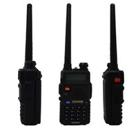 meilleurs x2 vente Radio Baofeng UV-5R Portable radio bidirectionnelle Talkie Walkie pofung 5W vhf uhf double bande 136-174 400-520MHZ Baofeng uv 5R