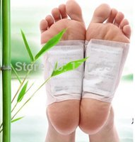 detox foot - packs Kinoki Detox Foot Pads Patches with Adhesive No Retail Box Patches Adhesives