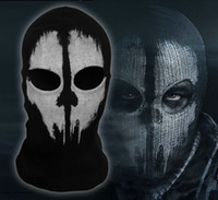 call of duty ghost - Halloween Mask AAAA Quality New call of duty X Ghosts Mask Outdoor Hat Cycling Bike Motorcycle Windproof Mask CS Game Face