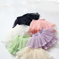 layer cake - 2015 Children Korean Girls Lace Hem Princess Dress Cake Layers of Gauze Skirts
