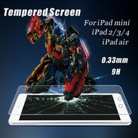 For Apple ipad2 10 inch - Real Tempered Glass Screen Protector for iPad Mini Air H mm with Pack Waterproof Inch ipad2 ipad3 Film Guard Shield