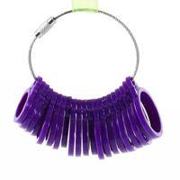 Wholesale 1set Measure Gauge Set Ring Sizer Finger Sizing Jeweler Jewelry Size Tool Newest