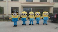 Wholesale Custom made styles Despicable me minion mascot costume for adults despicable me mascot costume
