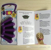 Wholesale Europe and th fe French fashion DIY hair braider modeling tool Twist Styling Hair Braider Braid Tool Holder Clip DIY HHA1