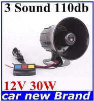 Wholesale Hot Sounds PA System V Loud Horn Amplifier for Car Auto Van Truck Motorcycle new arrive off dorp shipping