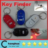 Wholesale Wholesales Keyfinder Sound Control Whistle Locator Key Finder with keychain