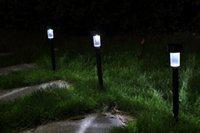 led lawn light - Solar Power LED Stainless Steel Spot Light Landscape Outdoor Garden Path Lawn Lamp