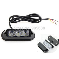 led strobe - 20Pcs DC V W Waterproof LED Car Truck Emergency Flash Strobe Bulb Light LED Warning light