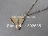 Wholesale Harry s Paper Airplane Necklace D ONE DIRECTION Jewelry Set Fans Gift