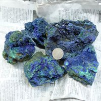 antique blue china - Natural Crystal Stone Blue Malachite Nunatak azures mineral azurite specimen g