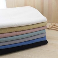 Wholesale 50 cm Plain colour Nogi Wild kapok washing Cotton Yarn dyed fabric handwork Manual cloth fabric cloth dyeing DIY patchwork