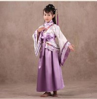ancient chinese clothing women - raditional ancient chinese costume for costume hanfu child girls clothing women cosplay dresses dance Tang Dynasty costumes