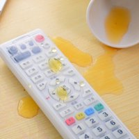 Wholesale Clear TV Air Condition Remote Controller Silicone Protector Case Cover Skin Waterproof Pouch Bags