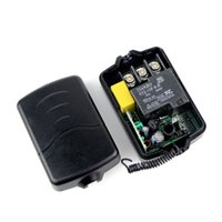 high power rf - New High Power AC220V Single Channel RF Wireless Remote Control Receiver Relay Module Switch433MHz Learning Code F4263A