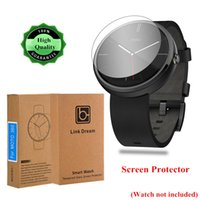 Wholesale 0 mm H Tempered Glass Screen Protector for Motorola Moto Smart Watch with Exquisite Packaging Top Quality PA1956