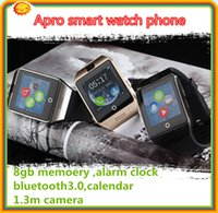 android calendar alarm - 2016 new wearable sport bluetooth watches smart watch phone sim gb memory alarm clock bluetooth3 calendar m camera smartwatches