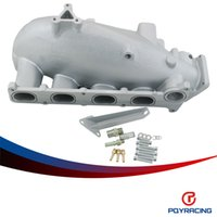Wholesale PQY SOTRE NEW INTAKE MANIFOLD FOR MAZDA MZR FOR FORD FOCUS DURATEC ENGINE CAST ALUMINUM INTAKE MANIFOLD NEW