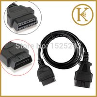 auto extension cord - 1 M ft OBD II Pin Male to Female ELM327 OBD II OBD2 OBD Extension Cable Connector Auto Car Diagnostic Tool Adapter cord