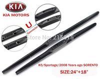accessories for auto kia - Top quality Auto accessories Soft Rubber WindShield car Wiper blade blades PAIR quot quot for kia K5 Sportage SORENTO