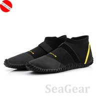 Wholesale MM Neoprene shoes SCUBA Diving Boots Shoes Surfing Waterproof diving Shoes beach shoes