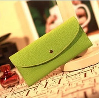apple clutch bag - European Purses for Women Leather Wallets Luxury Purse Lady Hand Purse Magic Wallet Fashion Cell Phone Bag Clutch Ladies Hangbags