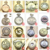 Wholesale Nostalgic vine Pocket watch necklace Exclusive antique chic elegant NECKLACE WATCH AAA