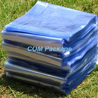 shrink wrap - 8 cm quot Clear PVC Heat Shrink Bag Wrap Film Open Top Heat Seal Shrinkable Polybag Retail Plastic Gift Cosmetic Packaging Pouch