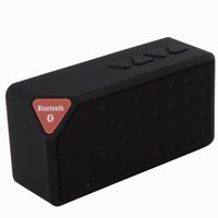 Wholesale Mini X3 Bluetooth Speaker Portable Wireless Handsfree TF FM Radio Built in Mic MP3 with Detachable Battery New