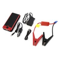 Wholesale New mini portable Car mAh V car Jump Starter Emergency Charger Battery Power Bank Kit for laptop mobile phoneBrand New