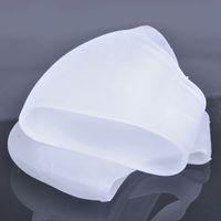 Wholesale Heel silicone sleeve Silicone heel protector Ankle Pain Relief Cushion Sleeve heel sock Moisturizing Sleeve
