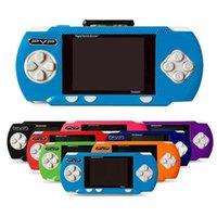 Wholesale 10Pcs Pocket Handheld Game Console PVP Bit Video Games Player free game card retail box