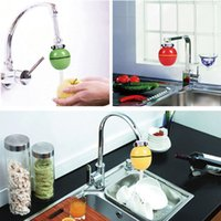 Wholesale Healthy Bathroom Household Kitchen Bath Shower Head In Line Faucet Filter Purifier Faucet Clean Water Tap Remove Chlorine