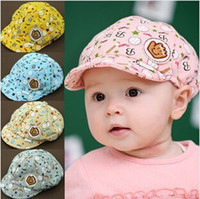 Wholesale Hot Sale baby Hats Childrens Fashion Summer Sun Hats Lovely Baby Outdoor Caps Cheap Girls Boys Baseball Cap Snapbacks HW