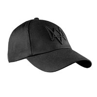 Wholesale Watch Dogs Aiden Pearce Cap Costume Cosplay Watch Dogs Hat High Quality