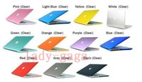 Wholesale Crystal Clear Front Back Protective Hard plastic Case Cover For Macbook Air Pro Retina