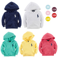 Unisex clothing sport coats - new fall spring autumn baby boys and girls children clothing hoodies kids sport coat cotton long sleeved hooded sweater cm