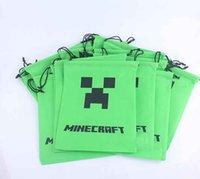 minecraft - New Creative Polyester Minecraft Creeper Storage packet Minecraft bags Storage bags environmental Minecraft Creeper BS668