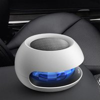 Wholesale LYL solar car air purifier anion interior formaldehyde PM2 car purifier car in addition to smoke