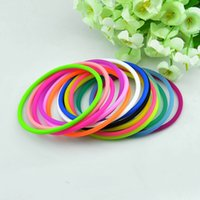 rubber band loom - Rubber band loom Bands bracelet Charm Bracelets Wristbands Rubber Hair Bands Hair Jewelry colors DHL
