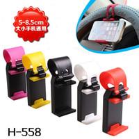 Wholesale 400pcs Car Steering Wheel Phone Holder Cradel Bike Phone Holder GPS Holder Smart Clip Rubber Band For Iphone Samsung Ipod MP4 GPS