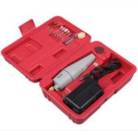 Wholesale Small electric drill mini drill grinding handle tools small electric grinding kit V
