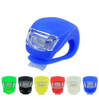 Wholesale New Frog Silicone light Bike Light YP LED Bicycle Lamp Bicycle Cycling Wheel Spoke Silicone LED Light Lamp Mountain Bike Wheel Light