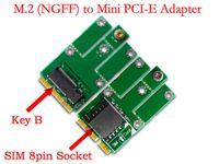 Wholesale SMAKN M NGFF B Key G G Module to Mini PCI E Adapter for CDMA GPS LTE